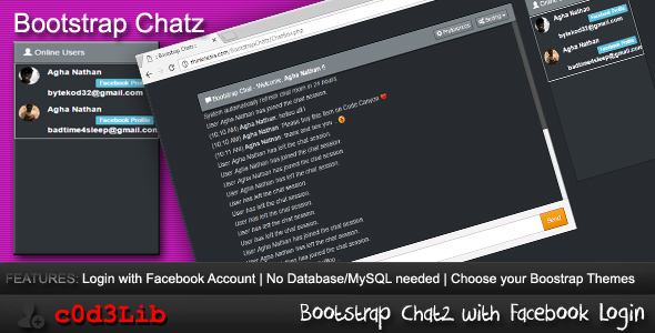 Bootstrap Chatz - CodeCanyon Item for Sale