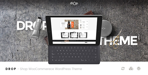 Drop - Shop WooCommerce WordPress Theme - WooCommerce eCommerce