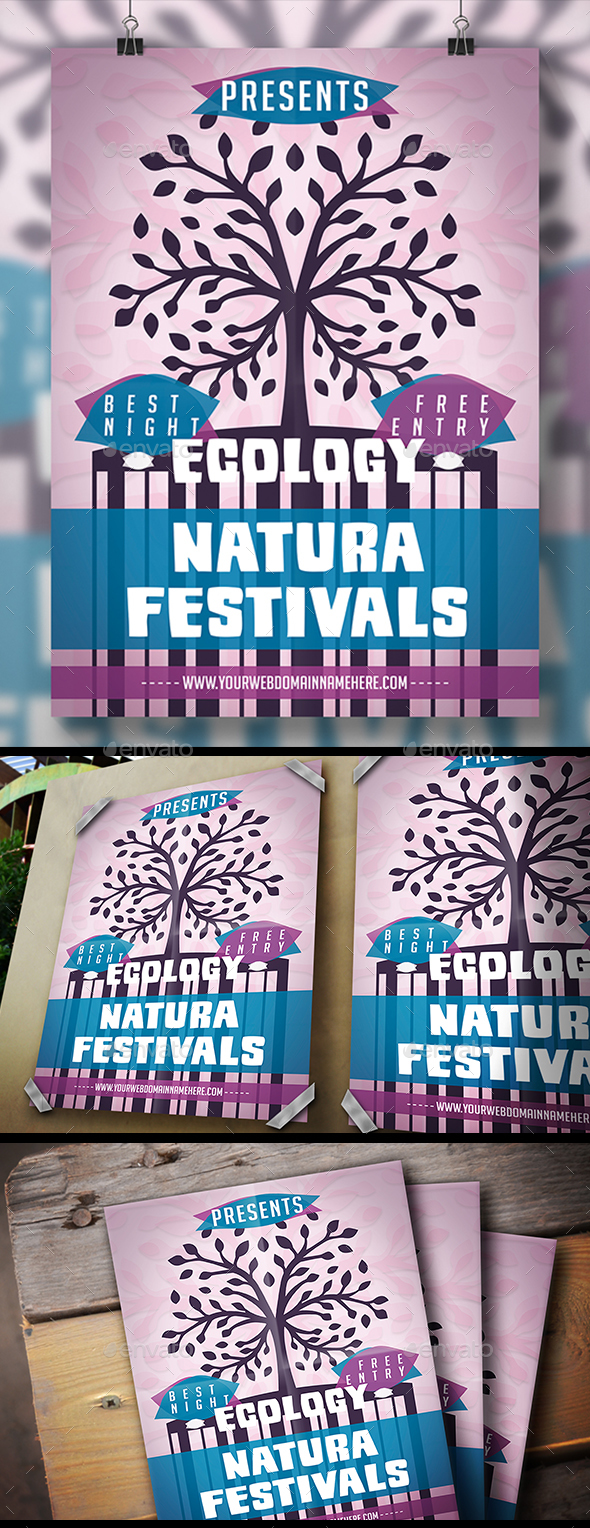 Nature Fest Flyer - Holidays Events