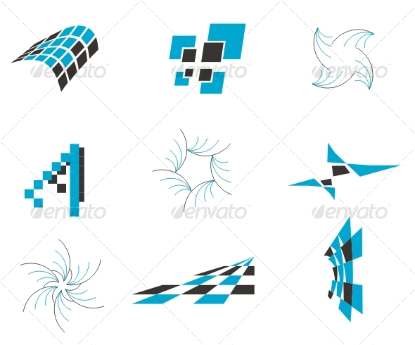 Vector design elements - Decorative Symbols Decorative