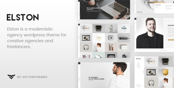 Elston - Portfolio for Freelancers & Agencies