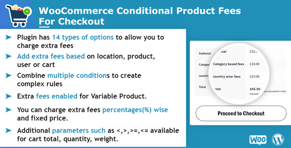WooCommerce Conditional Product Fees For Checkout - CodeCanyon Item for Sale