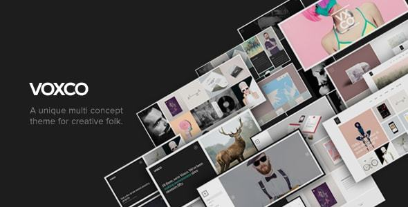 Voxco – Responsive Multi Concept Theme For Creatives
