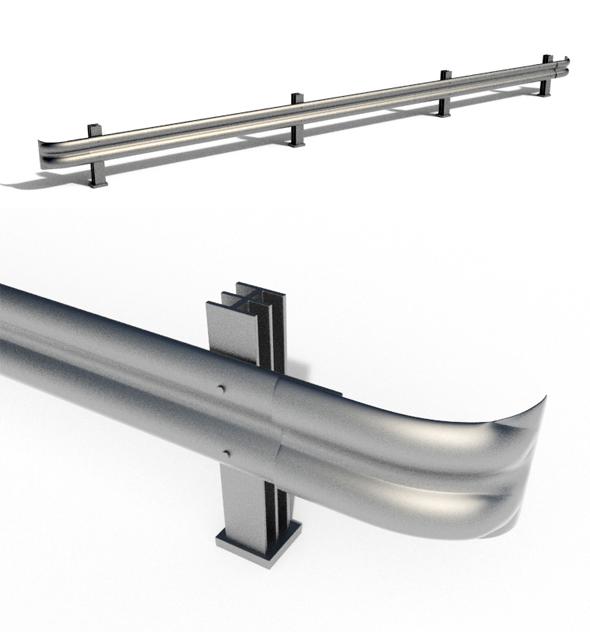 Rail Guard - 3DOcean Item for Sale