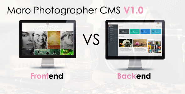 Maro Phpotographer - CodeCanyon Item for Sale
