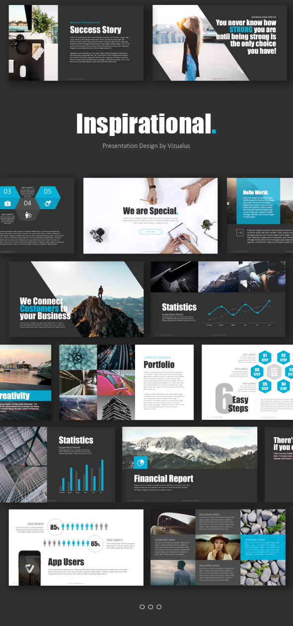 Inspirational Powerpoint Template By Levato Graphicriver