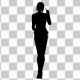Business Woman Silhouette - VideoHive Item for Sale