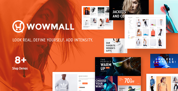 WOWmall – fastest WordPress WooCommerce theme