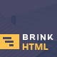 Brink - Creative Business HTML Template - ThemeForest Item for Sale