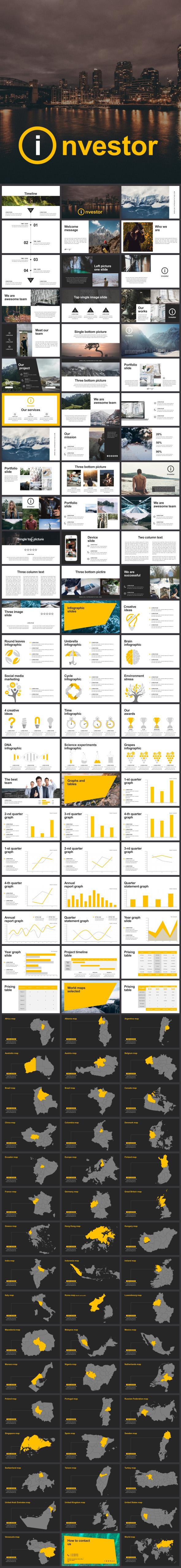 Investor Keynote Template - Business Keynote Templates