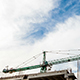 Construction Crane In A Cloudy Day - VideoHive Item for Sale