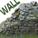 Old Mossy Stone Half Wall - 3DOcean Item for Sale