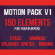 Motion Design Package - VideoHive Item for Sale