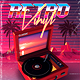 Retro Vinyl 80's Synthwave Flyer - GraphicRiver Item for Sale