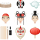 Chinese Culture Icon Cultural Elements - GraphicRiver Item for Sale