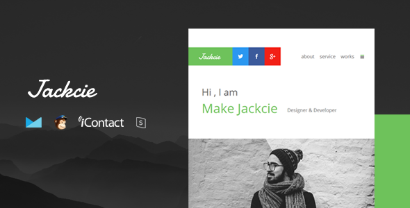 Image of Jackcie Mail - Responsive E-mail Template + Online Access