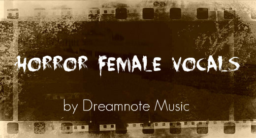 Horror Female Vocal Music