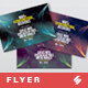 Extraterrestrial Discoveries - Progressive Trance Party Flyer Artwork Template
