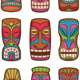 Set of Hawaiian Tiki Statues - GraphicRiver Item for Sale
