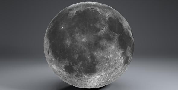 Moon Globe 23k - 3DOcean Item for Sale