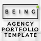 Being - Portfolio Template - ThemeForest Item for Sale