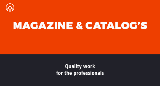 Magazine Portfolio and Catalogs
