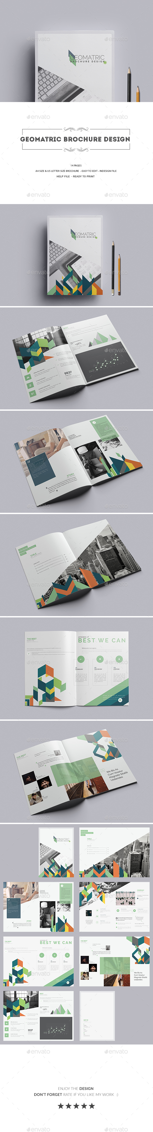 Geomatric Brochure Design - Corporate Brochures