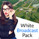 White TV - Clean Broadcast Pack - VideoHive Item for Sale