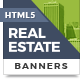 HTML5 Ads - Sleek Real Estate Banner Templates - CodeCanyon Item for Sale