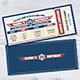 Birthday Invitation Ticket - GraphicRiver Item for Sale