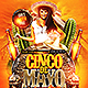 Cinco de Mayo v3 Flyer Template - GraphicRiver Item for Sale