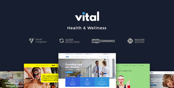 Vital | Health, Medical and Wellness WordPress Theme - Health & Beauty Retail