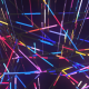 Cosmic Structural Lasers Tunnel VJ - VideoHive Item for Sale