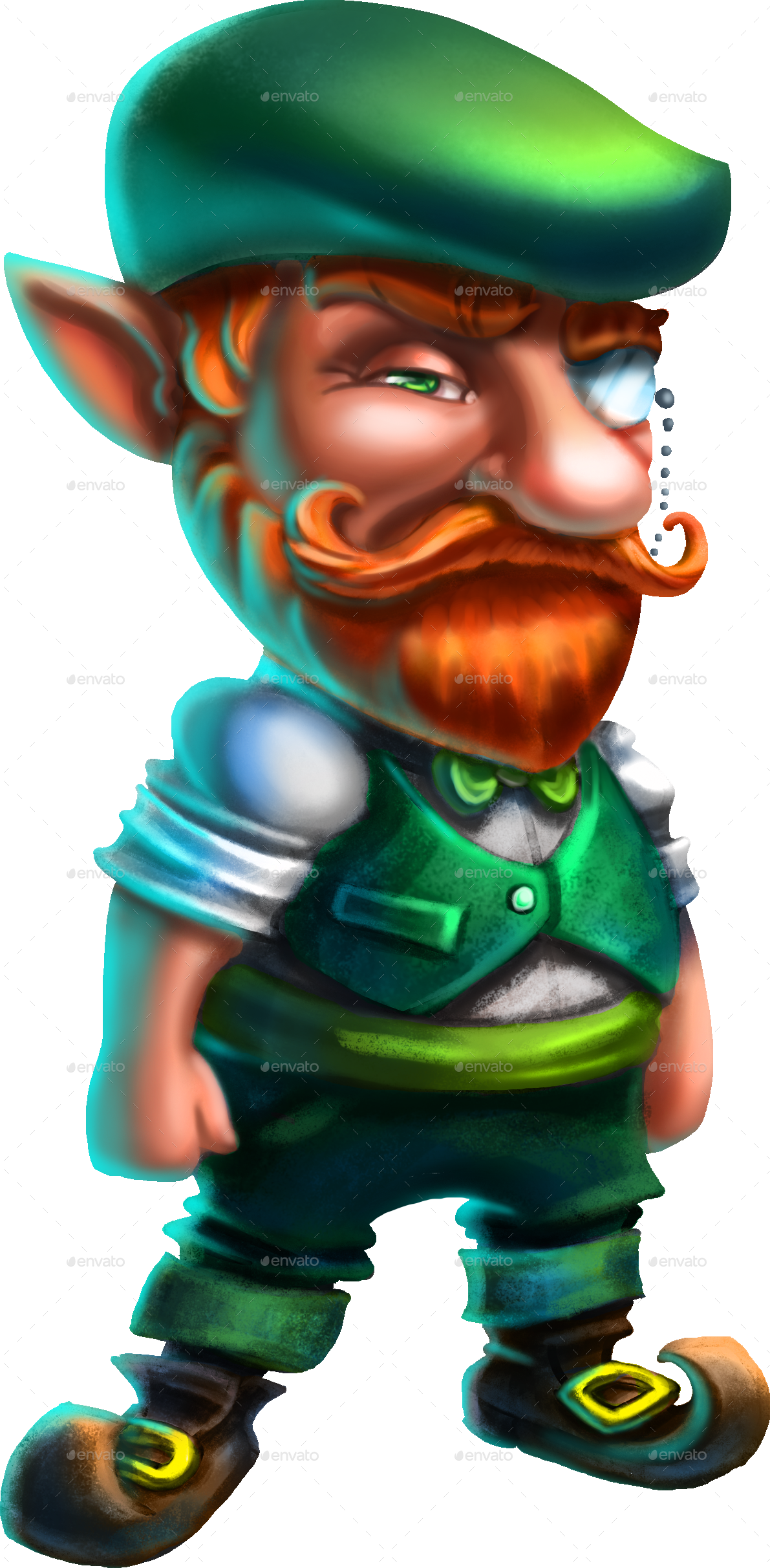 Leprechaun hipster by ennaclover graphicriver leprechaun hipster zipleprechaun stockg thecheapjerseys Images
