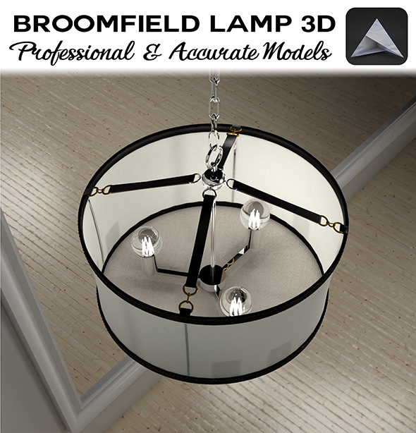 Broomfield Lamp by Ralph Lauren - 3DOcean Item for Sale
