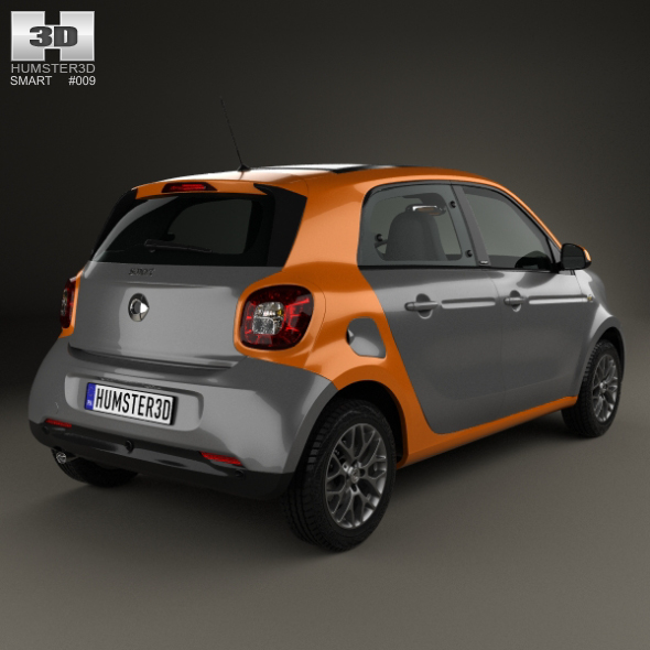 smart forfour 2014 by humster3d 3docean. Black Bedroom Furniture Sets. Home Design Ideas