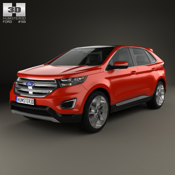 Ford Edge 2015 - 3DOcean Item for Sale