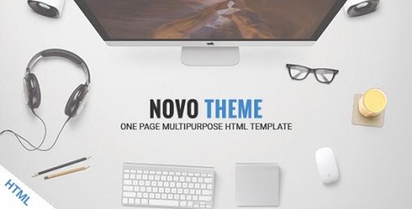 NovoTheme – One Page Multipurpose HTML5 Template