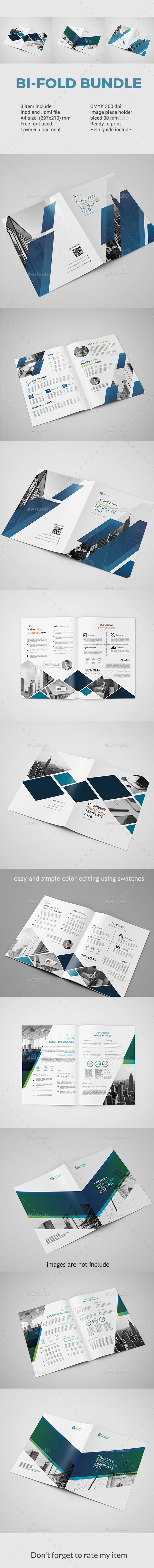 Bifold Bundle - Corporate Brochures