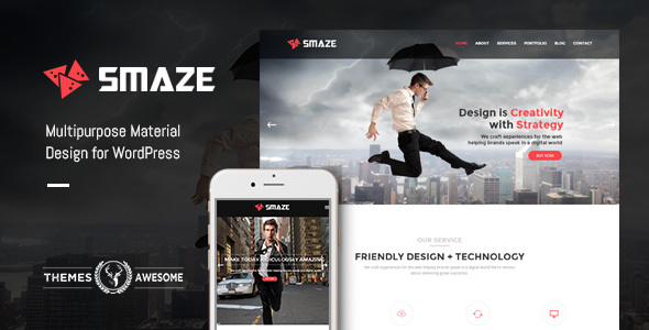 Smaze – Multipurpose Modern Theme Free Download