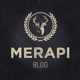 Merapi - Modern Grid Blog Theme Nulled