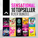 10 Topseller Flyer Bundle
