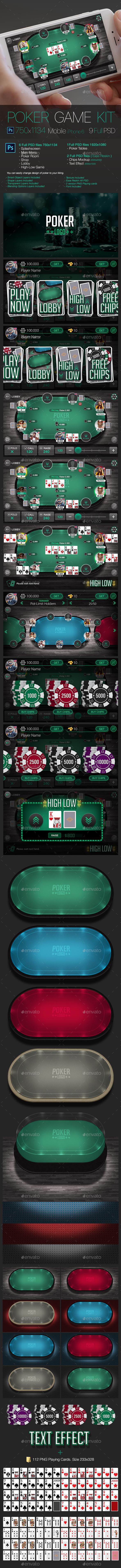 Poker Game Kit - Game Kits Game Assets