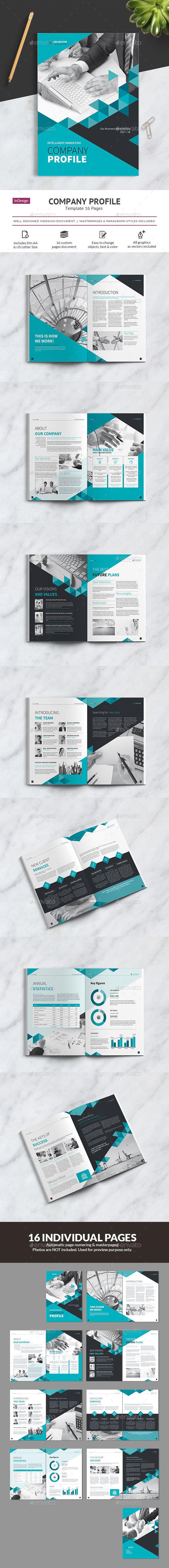 Company Profile Vol.2 - Brochures Print Templates