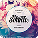 Flower Sounds Flyer - GraphicRiver Item for Sale