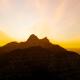Time-lapse Sunset Mountain