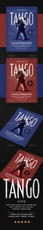 Tango Dance Flyer - Events Flyers