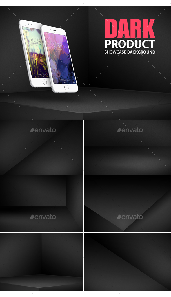 Dark Showcase Backgrounds - Miscellaneous Backgrounds