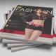 Fashion Magazine Template - PSD