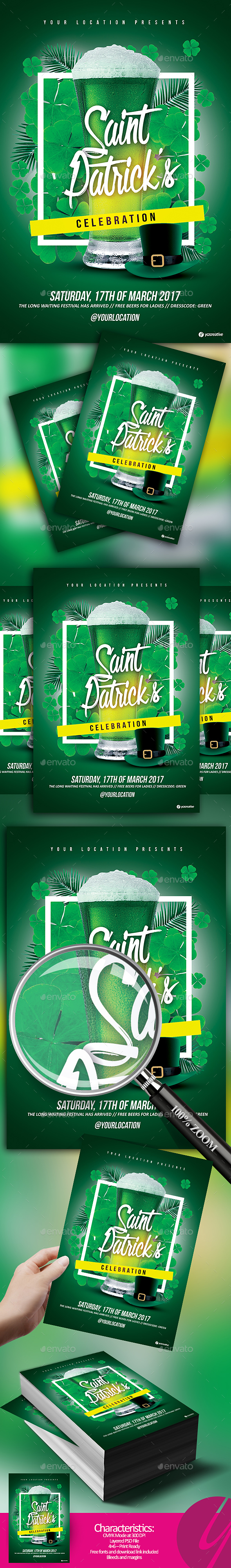 Saint Patrick's Celebration - Holidays Events